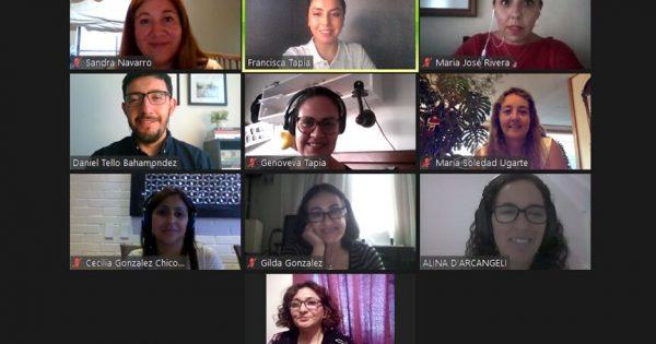 Educación Parvularia hizo un Focus Group virtual con empleadoras de la carrera