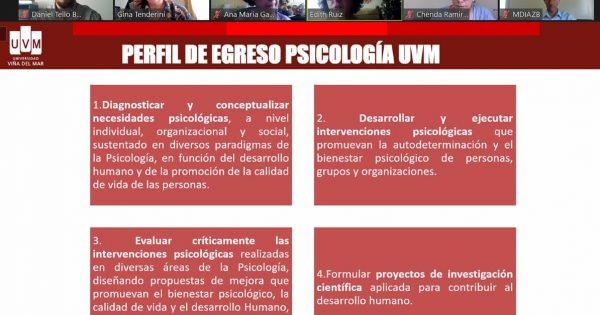 Psicología realizó Focus Group virtual con empleadores de la carrera
