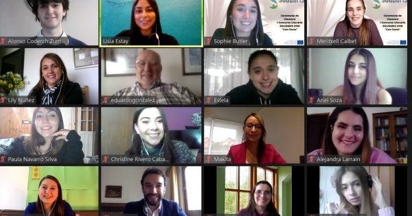 Culmina concurso literario realizado en el marco de proyecto Erasmus+ SOLIDARIS
