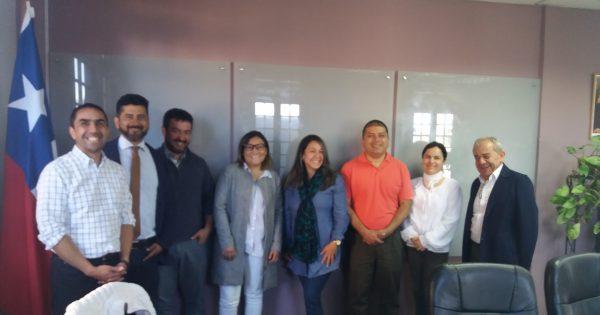 Representantes de la Universidad de Cauca Colombia visitan dependencias de la UVM