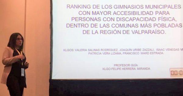 Titulados UVM exponen en el IX Congreso Nacional de Kinesiología