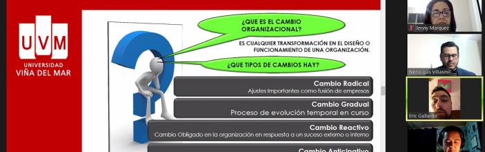 UVM realizó Taller de Gestión del cambio en las organizaciones