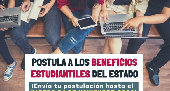 Se extiende el plazo para postulación a beneficios estatales estudiantiles 2021