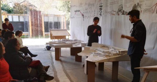 Escuela de Arquitectura y Diseño presenta proyectos a la CORMUVAL