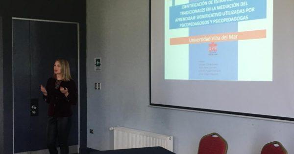 Estudiante de Psicopedagogía UVM participó en VII Congreso RINIE 2019