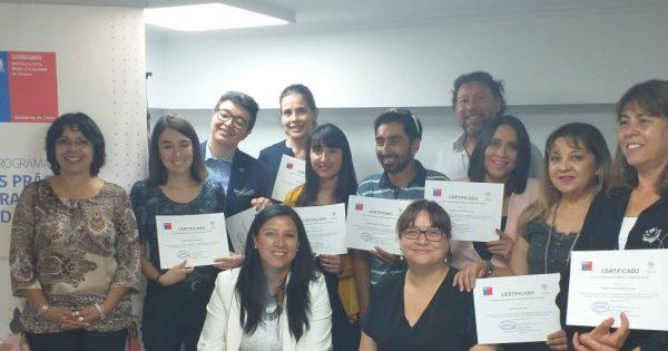Colaboradoras UVM son certificadas como Agentes de Igualdad por SERNAMEG