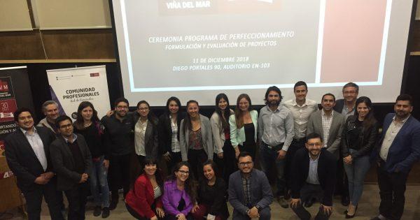 Presentación proyectos finales Programa Perfeccionamiento Formulación y Evaluación de Proyectos