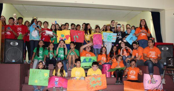 Quinta edición del Summer Camp UVM tuvo emotivo cierre en el Colegio Teodoro Lowey