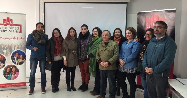 Empleadores de pedagogos en Artes Visuales UVM se reúnen en jornada de actualización