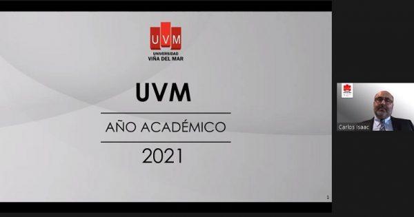 Rector UVM presidió recepción académica 2021