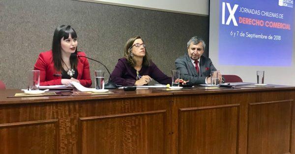 Docente UVM destaca en IX Jornada de Derecho Comercial
