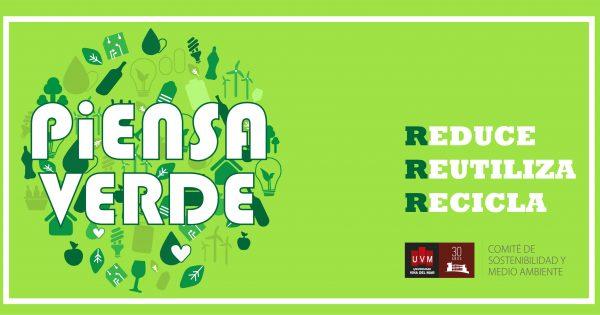 Piensa Verde, colabora con el Medio Ambiente