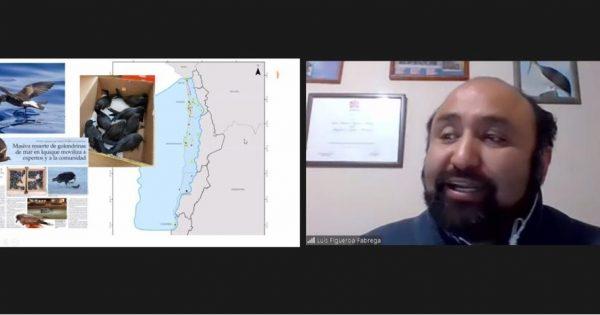 Docente de la carrera de Medio Ambiente y Recursos Naturales expuso en seminario virtual de la CECADES