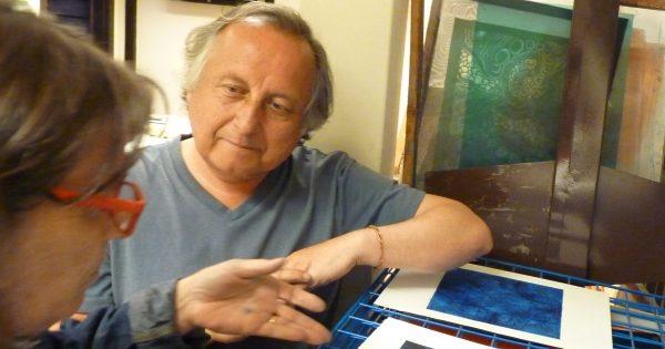 Celebración de los 40 Años en las Artes Visuales del académico Víctor Maturana Leighton