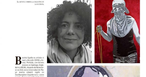 TRABAJO ARTÍSTICO DOCENTE CINE UVM ES PUBLICADO EN REVISTA CASAETC