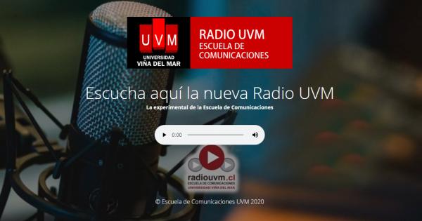 Radio UVM suma a programación trabajos de estudiantes de Periodismo