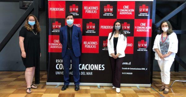 Estudiantes de Relaciones Públicas UVM rinden exitosos exámenes de título