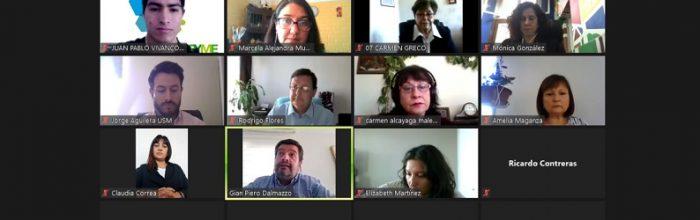 Docentes de Relaciones Públicas presentes en la Mesa Federados MiPyme