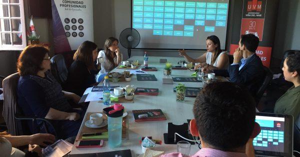 Empleadores de nutricionistas UVM se reúnen en focus group organizado por la Comunidad Profesionales