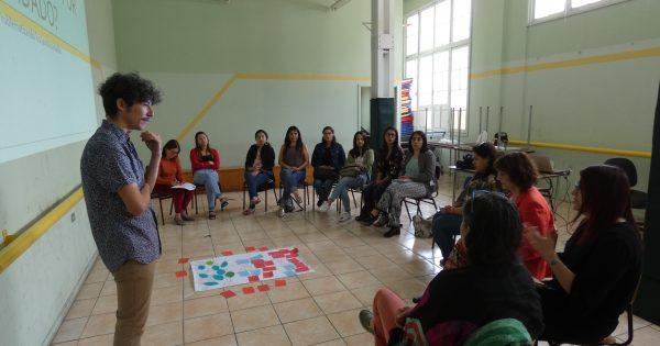 Centro de Prácticas Sociales UVM efectúa jornada de autocuidado con la Red Chile Crece Contigo