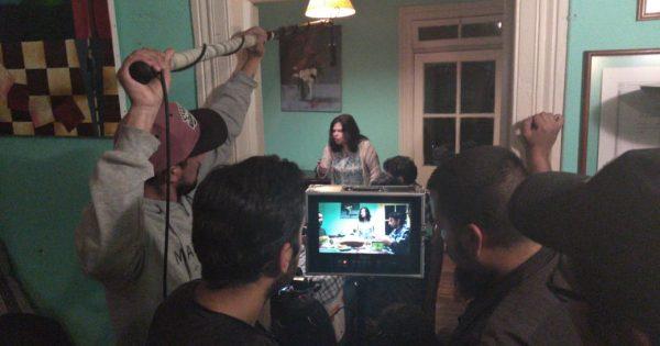 Estudiantes de Cine UVM filman película género fantástico en Valparaíso