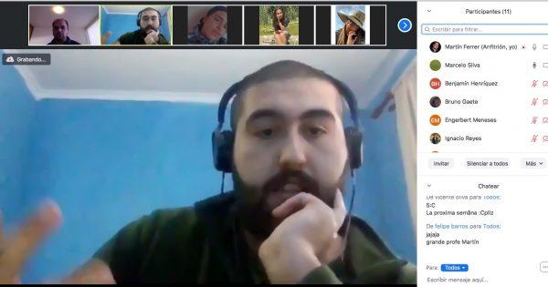 Periodista UVM conversa con estudiantes sobre proyecto que se convirtió en medio de comunicación