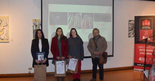 UVM premió obras y videos en XXIX Concurso Interescolar de Arte y Video