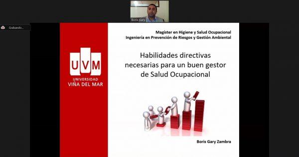 Por segundo día continúa el seminario internacional UVM de salud ocupacional