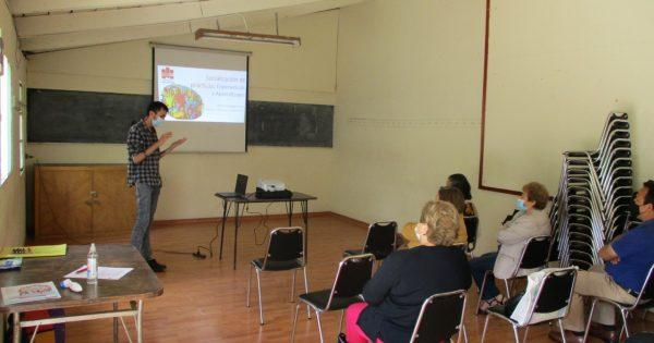 Trabajo Social UVM cierra jornada de prácticas junto a dirigentes sociales