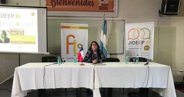 Docente de Trabajo Social participa destacado programa universitario en Argentina