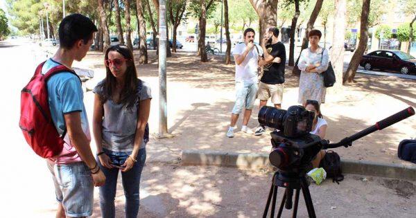 Estudiantes de Cine UVM filman película sobre integrismo religioso en Quillota