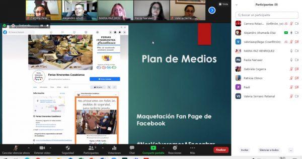 Relaciones Públicas presenta planes de medios para municipalidad de Casablanca