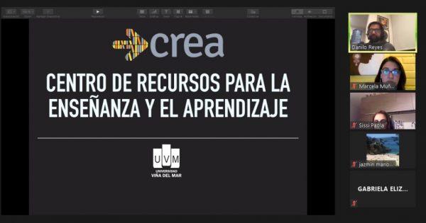 Estudiantes de Relaciones Públicas vespertino UVM participan de taller CREA