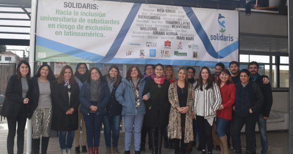 Formadores SOLIDARIS visitan UVM para realizar Jornada de Formación