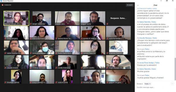 Futuros psicólogos UVM participan en seminario de IST sobre los riesgos psicolaborales en pandemia
