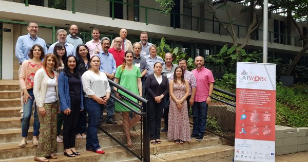 Universidades pertenecientes al proyecto Erasmus+ LATWORK se reúnen en Brasil