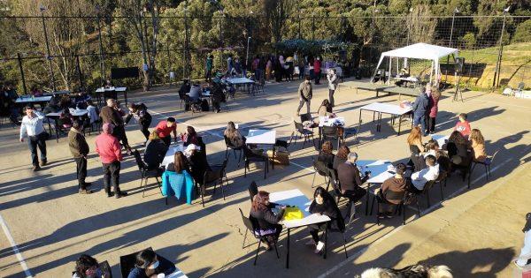 Estudiante de Trabajo Social UVM participó en organización de actividad comunitaria