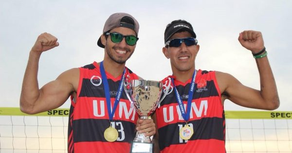 UVM se coronó campeón de Voley playa en varones