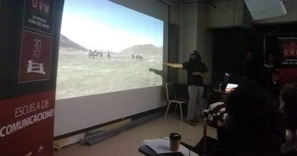 Destacado audiovisualista visita Escuela de Comunicaciones