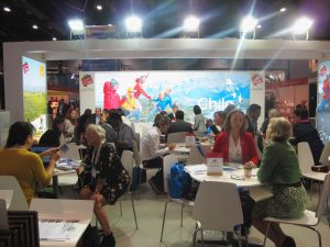 Vista general stand Chile EAIE 2016