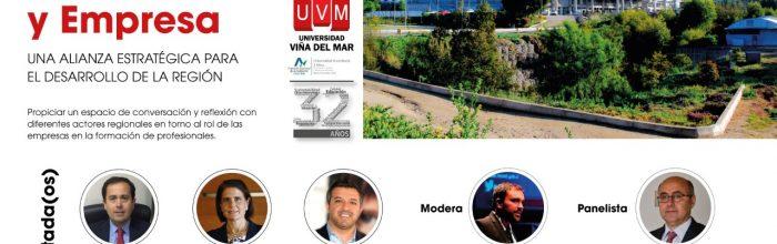Webinar de la UVM profundizó en el rol de la empresas en la formación de profesionales
