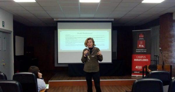 Psicología y Trabajo Social UVM realizan jornada de actualización profesional