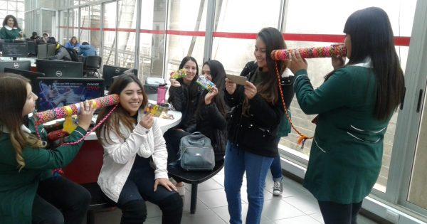Estudiantes de Educación Parvularia realizan intervención en Campus Rodelillo