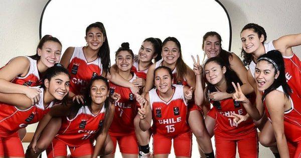 Equipo de básquetbol femenino UVM recibe a seleccionada nacional