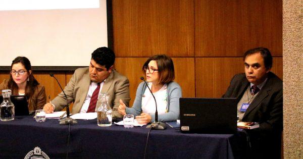 Exitosa participación de académica de Derecho en Jornada Temática