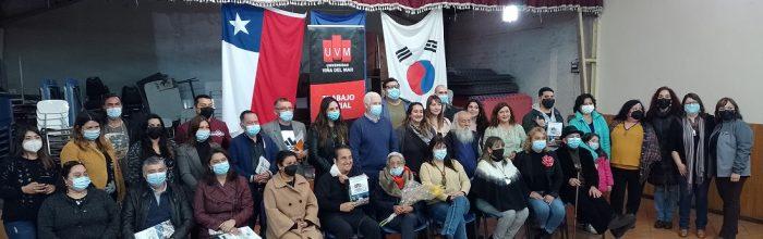 Estudiantes de Trabajo Social UVM cierran práctica comunitaria con entrega de revista