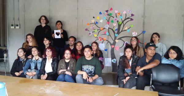 Pedagogía en Artes visuales asiste a Jornada Disciplinar en Parque Cultural ex Cárcel