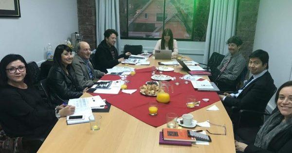 Se realizó primera reunión del Consejo Asesor Externo de la Escuela de Cs. Jurídicas y Sociales