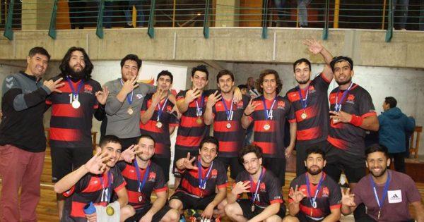 Universidad Viña del Mar se consagra Tricampeón en Balonmano Masculino