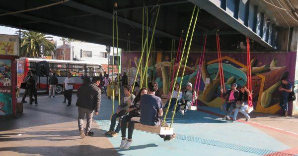 Estudiantes de arquitectura ganan concurso de intervención urbana en Valparaíso